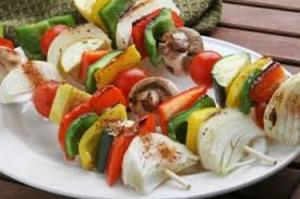 Vegetarian Skewer (2 Skewers)
