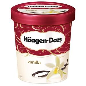 Haagen-Dazs Vanilla Ice Cream (500ml)